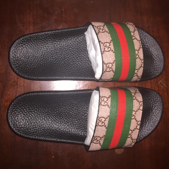 ad8d0d8ad7a0e Gucci Shoes - Women Gucci Slides Size 8